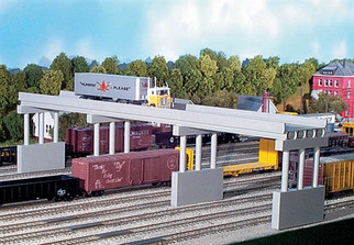 628-0113 HO Scale Rix Products 150' Highway Overpass