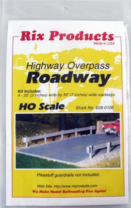 628-0106 Rix Products HO Roadway