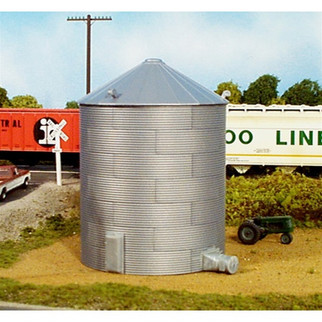628-0304  Rix Products HO KIT 30' Corrugated Grain Bin