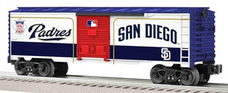 6-81932 O Lionel San Diego Padres Boxcar