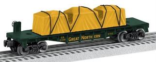 6-81206 O Lionel Great Northern Flatcar