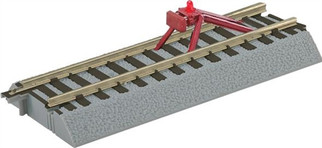 6-49866 S Lionel AF FasTrack Straight Track w/Lighted Bumper