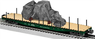 6-82705 O Scale Lionel Reading PS-4 Flatcar w/Load #9336