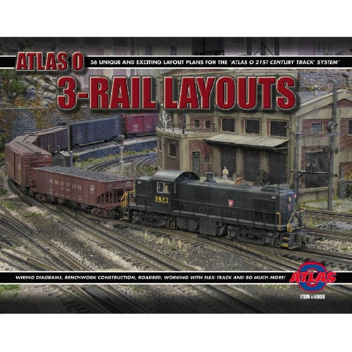 6008 atlas o thirty six 3 rail layouts book t and k hobby3 Rail Track Wiring #19