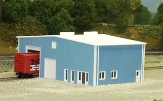541-8012 N Scale Pikestuff Rix Products Distribution Center Kit
