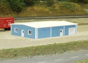541-8005 N Scale Pikestuff Rix Products Multi Purpose Building Kit