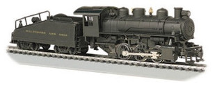 50612 HO Bachmann USRA 0-6-0 Slope and Tender Locomotive-B&O