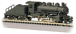 50598 N Scale Bachmann USRA 0-6-0 Switcher and Tender-Black