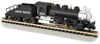 50561 N Scale Bachmann USRA 0-6-0 Switcher/Tender UP #4425