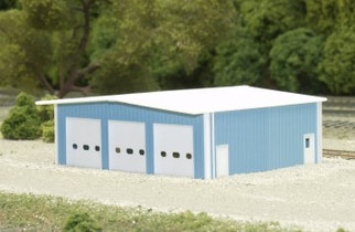 541-8009 N Scale Pikestuff Rix Products Fire Station Kit