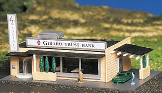 45804 N Scale Bachmann Drive-In Bank