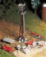 45603 Bachmann Plasticvile O Windmill With Machinery