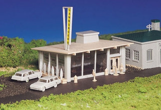 45434 HO Bachmann Drive-In Burger Stand Kit