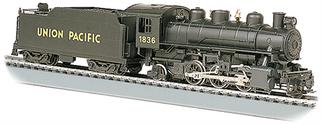 51501 HO Bachmann  Prairie 2-6-2 Locomotive & Tender w/Smoke-Union Pacific