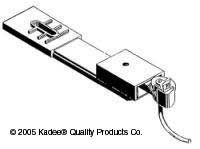 508 HO Kadee Magne-Matic Coupler Conversion Bolster for AHM 4 Wheel Passenger Trucks