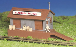 45171 Bachmann HO Scale Plasticville?? U.S.A. Kit Freight Station