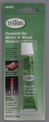 4505C Testors Cement-Carded 5/8 oz