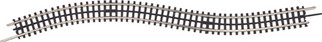 """45-1049 MTH O ScaleTrax 30"""" Straight Section-Flex Track"""
