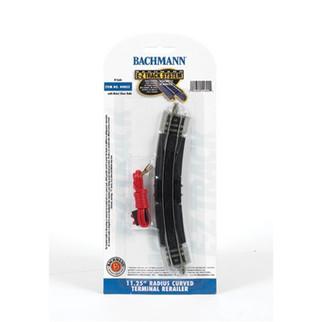 """44802 Bachmann N Scale Nickel Silver EZ 11-1/4"""" Radius Curve Terminal/Rerailer"""