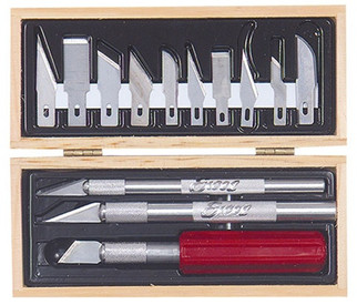 44082 Excel Plastic Tray Hobby Knife Set