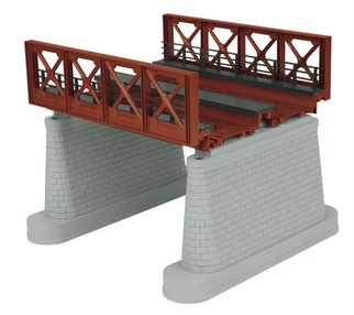 40-1110 O MTH 2-Track Bridge Girder-Rust