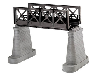 40-1106 O MTH RailKing Girder Bridge-Black