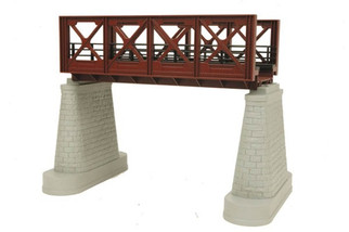 40-1104 MTH O Bridge Girder-Rust