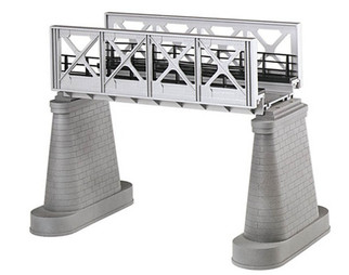 40-1102 O MTH RailKing Girder Bridge-Silver