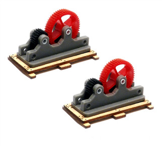 39106 HO Scale Bachmann Machinery Parts-Kit (2 Per Pack)