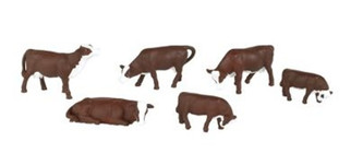 33152 Bachmann O Cows - Brown & White