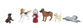 33108 HO Bachmann Dogs w/Fire Hydrant