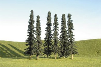 "32103 Bachmann 3""-4"" Conifer Trees (8)"