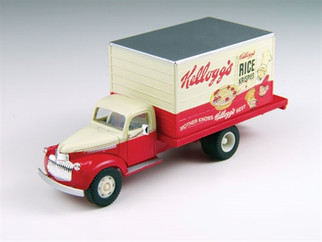 30391 HO Classic Metal Works Mini Metals '41/46 Chevrolet Delivery Truck-Kellog's