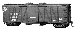 4030 HO Tichy Train Group USRA 40' Boxcar/Covered Hopper Cement Service Conversion-Undecorated (Plastic Kit)