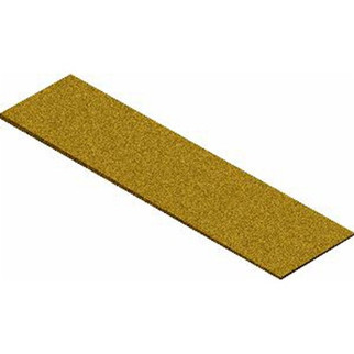 3014 Midwest Products Co. HO/O Cork Roadbed Sheets