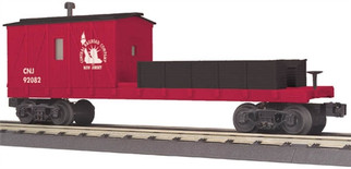 30-79387 O MTH RailKing Crane Tender Car-Jersey Central