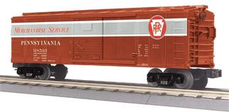 30-74821 O Scale MTH RailKing Box Car-Pennsylvania