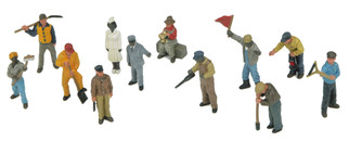 30-11066 MTH O 12-Piece Figure Set #3 Railroad Employees