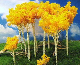 "295-T17 Grand Central Gems 15 Fall Aspen Tree Medium, 5-7"" Tall pkg(10)"