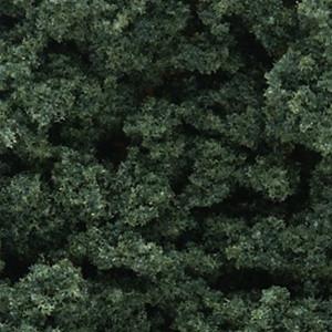FC684 Woodland Scenics Dark Green Clump-Foliage (Small Bag)