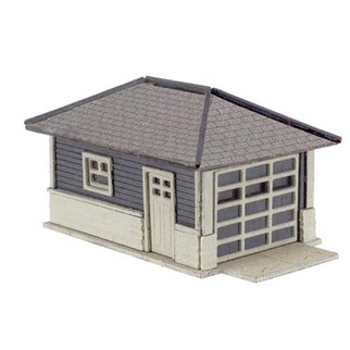 2860 Atlas Model Railroad Co N Scale Garage - Laser-Cut Micro Plywood Kit