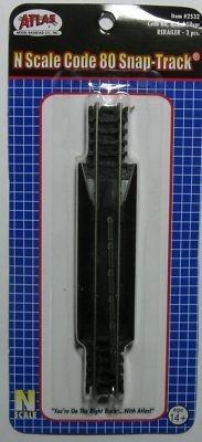2532 ATLAS N Scale Rerailer Track