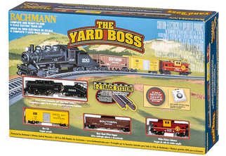 24014 Bachmann N The  Yard Boss Train Set Santa Fe