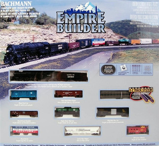 24009 Bachmann N Empire Builder SF Steam Train Set