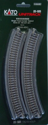 20-505 N Scale Kato USA Inc Single Track Viaduct (2)