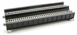 20-458 Kato Unitrack N Scale  DBL PLATE GIRDER BRIDGE, BLK