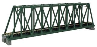 "20-431 Kato Unitrack N Scale  9-3/4"" Truss Bridge, Green"