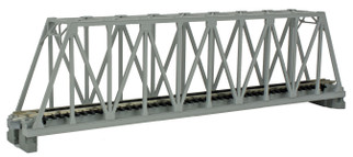 "20-432 Kato Unitrack N  Scale  9-3/4"" Truss Bridge, Gray"