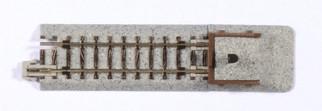 20-047 Kato Unitrack N Scale Straight Track w/Bumper (2)