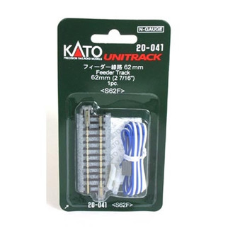 "20-041 Kato Unitrack N Scale  2-7/16"" Straight Feeder"